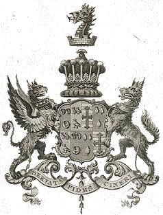 Sandon Hall Crest
